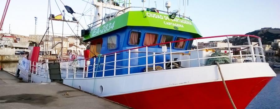 Barco después de la remodelación